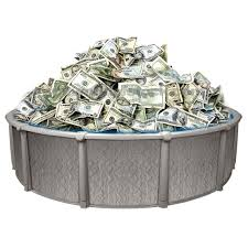 swimming pool money