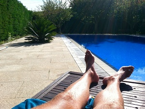 Solar power for pool heating