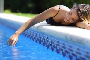 pool calcium build up