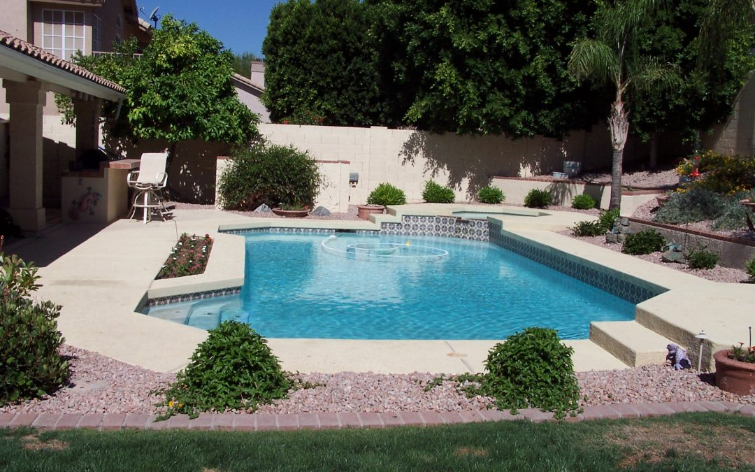 Swimming pool landscape ideas