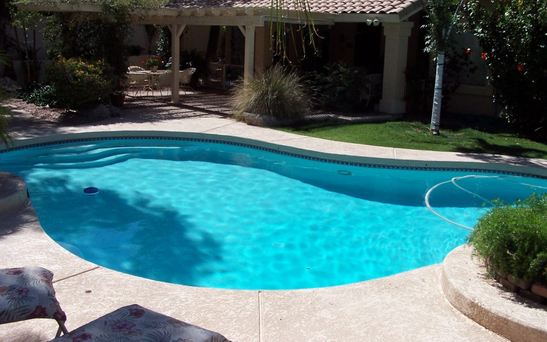 How can a sandstorm harm your Arizona pool?