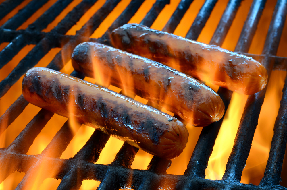 Add a grill poolside